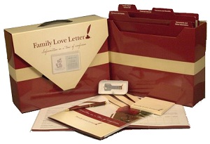 The Family Love Letter Red Box and Digital Drive